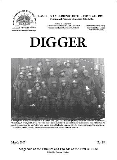 DIGGER 18titlepage