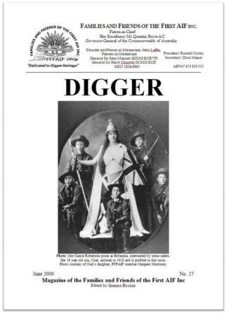 DIGGER 27 cover website