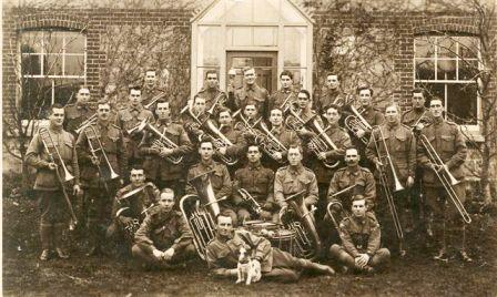 AIF Band in France November 1917
