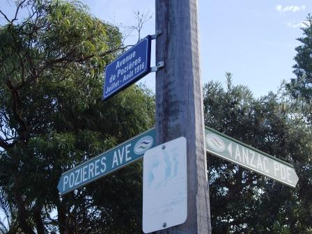 Pozieres Ave & Anzac Pde