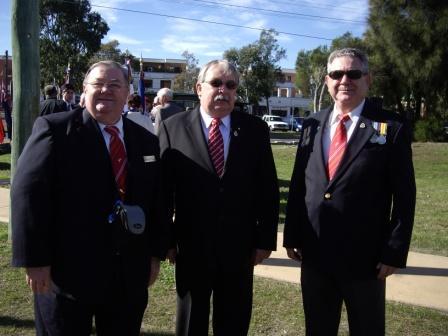 NSW RSL President & FFFAIF members
