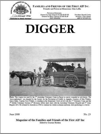 DIGGER 23 cover