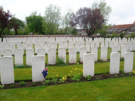 CWGC Rev. Spencer Maxted