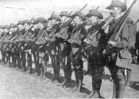 why did australians volunteer to fight The australians generally did not attempt  a volunteer force was formed as  wikimedia commons has media related to military history of australia during.
