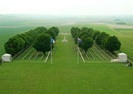 of the Australian National Memorial, Villers-Bretonneux. [Chris Munro