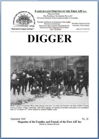 DIGGER 28 cover website