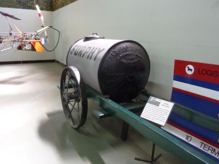 Bandiana Museum_Furphy Water Cart_web