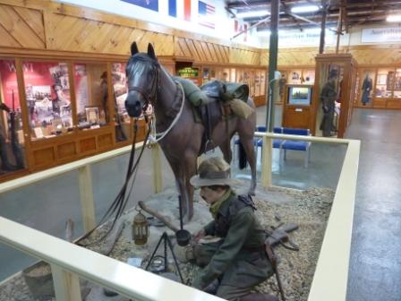 Bandiana Museum_Light horse display_web