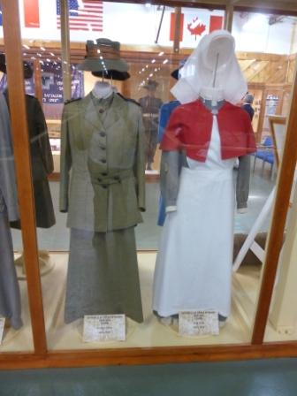 Bandiana Museum_WW1 nurses uniforms_web